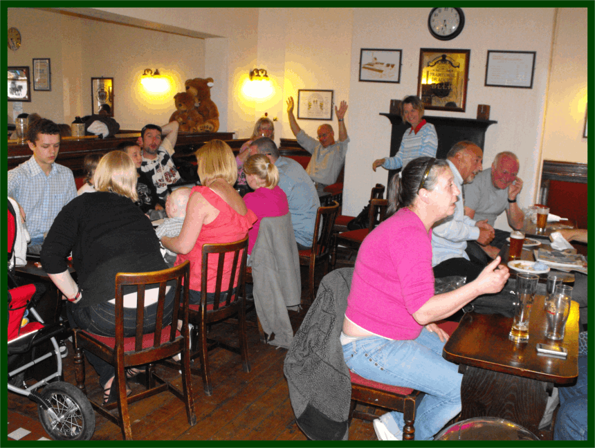 A busy late afternoon in The Sportsman